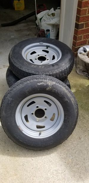 Trailer rims.. for Sale in Windsor, VA