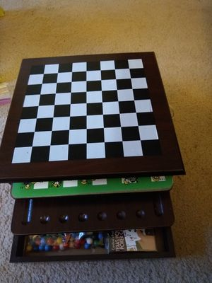 Wooden game set . for Sale in Henderson, NV