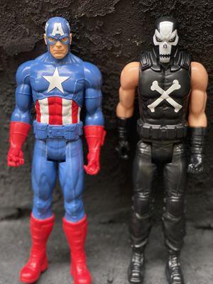 "12"" Captain America Vs. Crossbones action Figure combo for Sale in Philadelphia, PA"