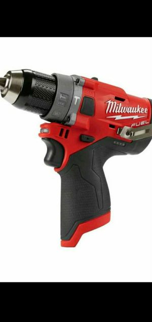 MILWAUKEE M12 FUEL BRUSHLESS SPEED HAMMER DRILL for Sale in San Bernardino, CA