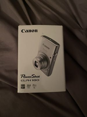 Canon powershot elph 180 for Sale in Naugatuck, CT