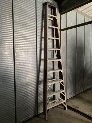 2 ladder for sale fiber glass and aluminum for Sale in Utica, MI