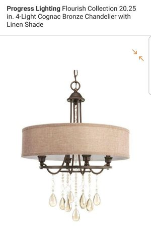 4 light chandelier for Sale in Bakersfield, CA