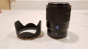 Sony Alpha Carl Zeiss lens for Sale in Corona, CA