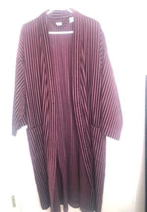 Burgundy robe for Sale in Fort Washington, MD