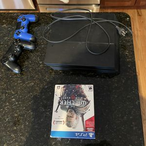 Playstation 4 With Two Controllers and Random Games for Sale in Chicago, IL
