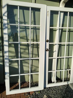 Aluminum French Doors & fràme for Sale in Delray Beach, FL