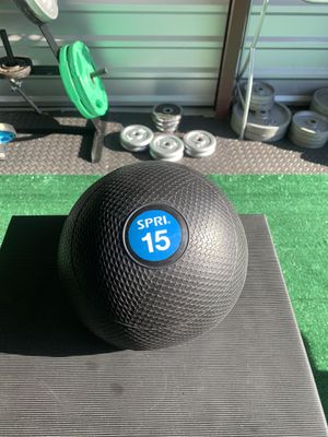 NEW!! SLAM FITNESS BALL - 15 LBS. for Sale in Cleveland, OH