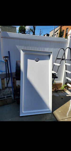 Shower Base in White for Sale in Brooklyn, NY