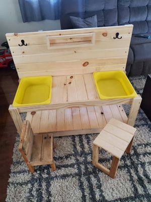 Kids play table handmade can make any sizes for Sale in Clinton Township, MI