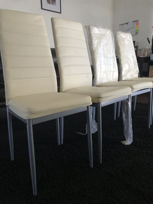 Beige dining chairs for Sale in Bakersfield, CA