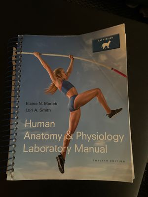 Human anatomy and Physio lab manual for Sale in Fremont, CA