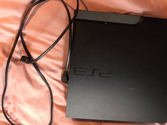 ps3 console with power cord and 2 sony controllers for Sale in Lake Placid,  FL