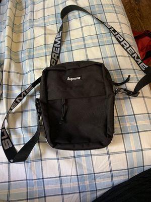 Supreme SS18 black shoulder bag for Sale in Blackwood, NJ