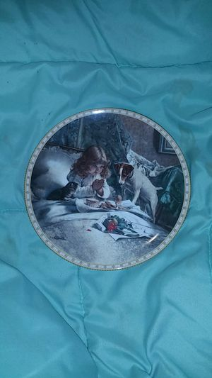 Breakfast In Bed collector's plate for Sale in Prattville, AL