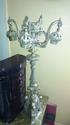 Silver candelabra for Sale in Las Vegas, NV