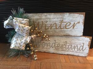 Winter wonderland sign for Sale in Richmond, VA