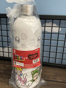 Super Mario 3-D world Water Bottle for Sale in Fort Lauderdale,  FL