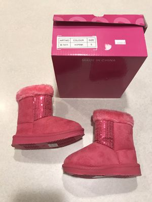 New Never Worn Toddler Girl Boots for Sale in Keizer, OR