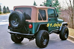 ⭐️1 OWNER Price 1,OOO$ 2000 Jeep Wrangler Urgent!! for Sale in Orlando, FL