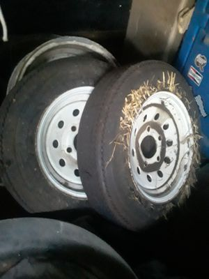Trailer tires for Sale in Joshua, TX