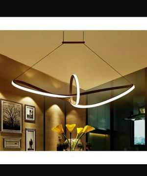 Modern 32-Inch LED Ring Pendant Light Black Finish for Sale in Rancho Cucamonga, CA
