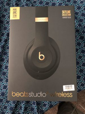 Beats Studio 3 Wireless Skyline Collection Midnight Black for Sale in Fowler, CA