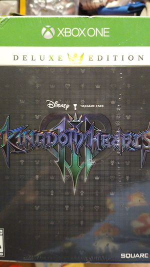 Kingdom hearts 3 sealed limited edition for Sale in Fort Lauderdale, FL