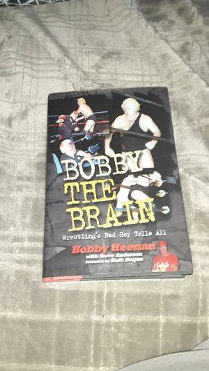 Bobby Heenan personal autographed book for Sale in Tarpon Springs, FL