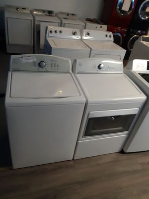 KENMORE TOP LOAD WASHER AND DRYER SET WORKING PERFECTLY for Sale in Baltimore, MD