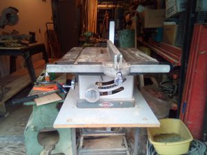 8inch Craftsmen table saw for Sale in Edmonds, WA