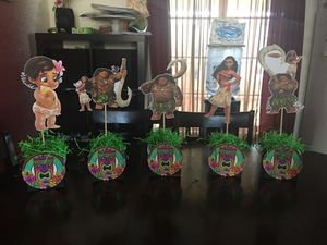 Moana centerpieces for Sale in Union City, CA