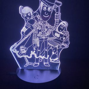 Beautiful Toy Story 3d Lamp for Sale in Las Vegas, NV