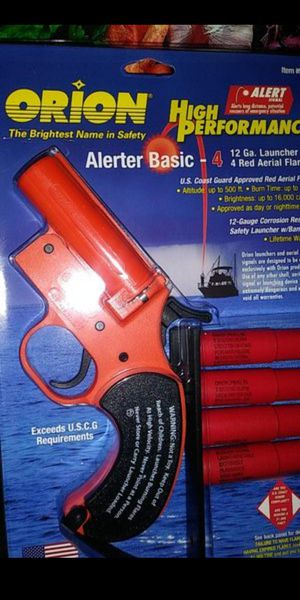ORION HIGH PERFORMANCE FLARE GUN for Sale in Federal Way, WA