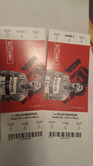 Wizard vs Dallas Mavericks for Sale in Bowie, MD