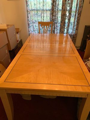 Dining room table and chairs for Sale in Wagener, SC