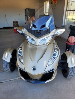 2017 Can Am Spyder rtse6 Limited Champagne 1330 for Sale in San Angelo,  TX