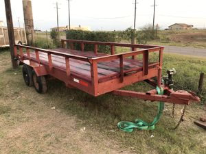 Trailer For Sale 16 Ft X 6 1/2 long for $1250.00 Also small Pony For $360.00 for Sale in Elsa, TX