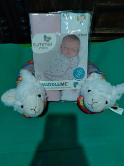 Baby Swaddle And Neck Pillow for Sale in Hudson,  FL