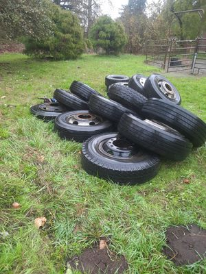 Commercial truck tires and rims for Sale in BETHEL, WA