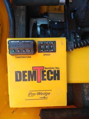 Dem tech xl pro wedge welder for Sale in Odessa, TX
