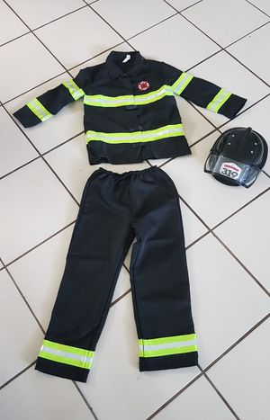 Firefighter (Halloween) Costume, Age 8-10 for Sale in Hollywood, FL