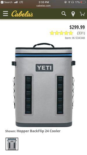 Hopper backflip 24 cooler for Sale in Wichita, KS