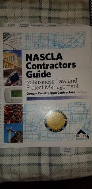 Be a oregon contractor this years for Sale in Milwaukie, OR
