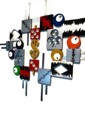 Game Room Jumble Wall Sculpture for Sale in Denver, CO