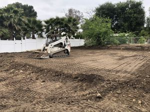 Bobcat dump truck demolition grading for Sale in Riverside, CA