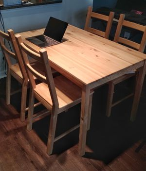 Chic Dining Set - Table and 4 Chairs for Sale in Atlanta, GA