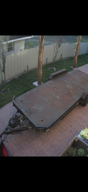 Stolen car hauler trailer 20' with metal deck REWARD for Sale in Houston, TX