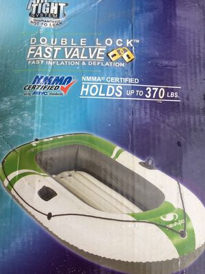 Inflatable 1-2 person boat for Sale in Clinton, MS