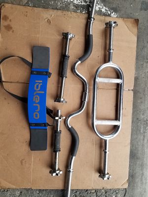 "1""HOLE WEIGHT BARS for Sale in Chicago, IL"